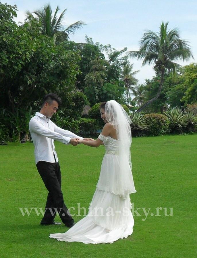 Медовый месяц на хайнане в шикарном