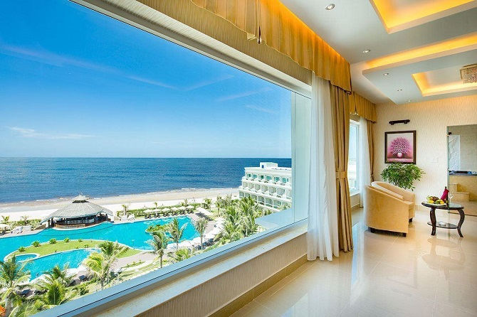 вид из номера Sailing Bay Beach Resort 4*