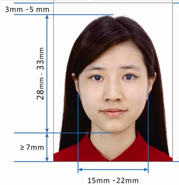 требования к фото на китайскую визу 2016