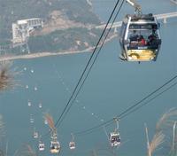 Канатная дорога Ngong Ping в Гонконге закрыта